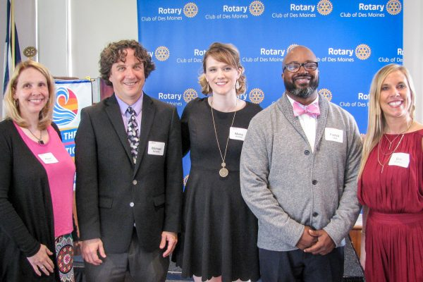 Congratulations, Mike Marcketti – Rotary Educator of the Year!
