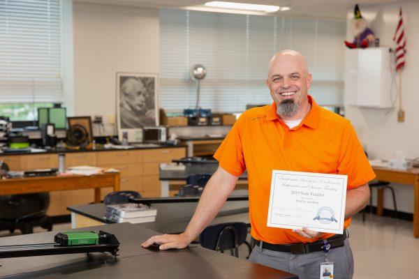 Bradley Jacobson Finalist for National PAEMST Award