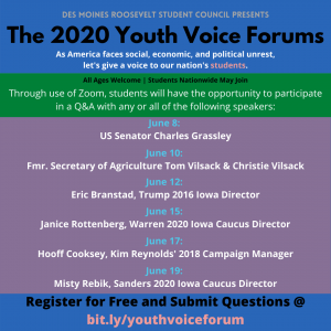 Youth Voice Forums
