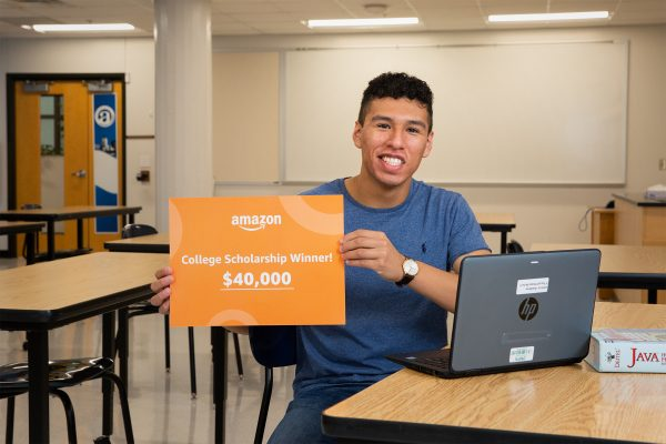 North High School Student Wins $40,000 Amazon Scholarship